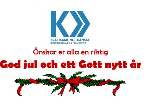 God jul önskar Kraftsamling